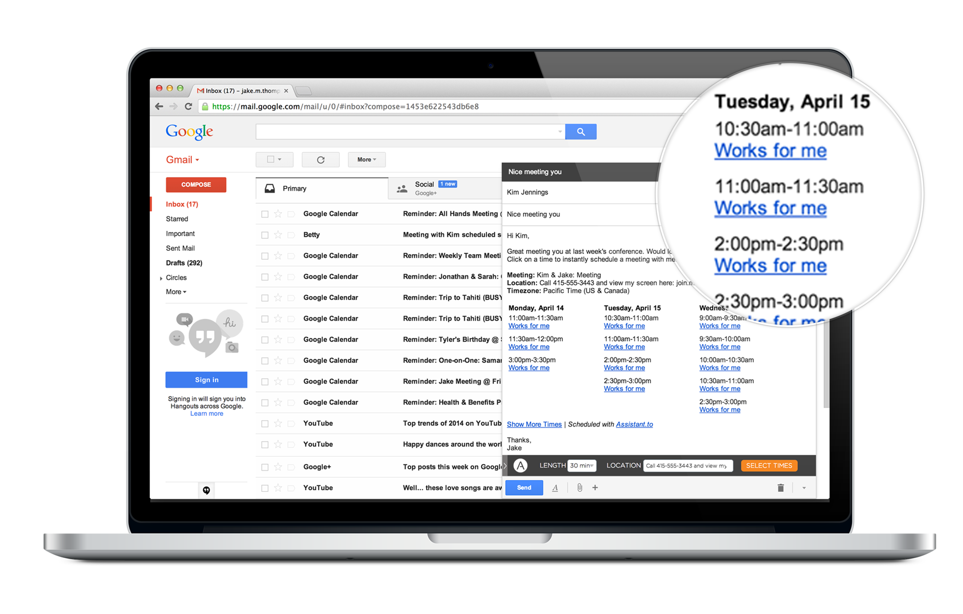Email Scheduling with Assistant.to