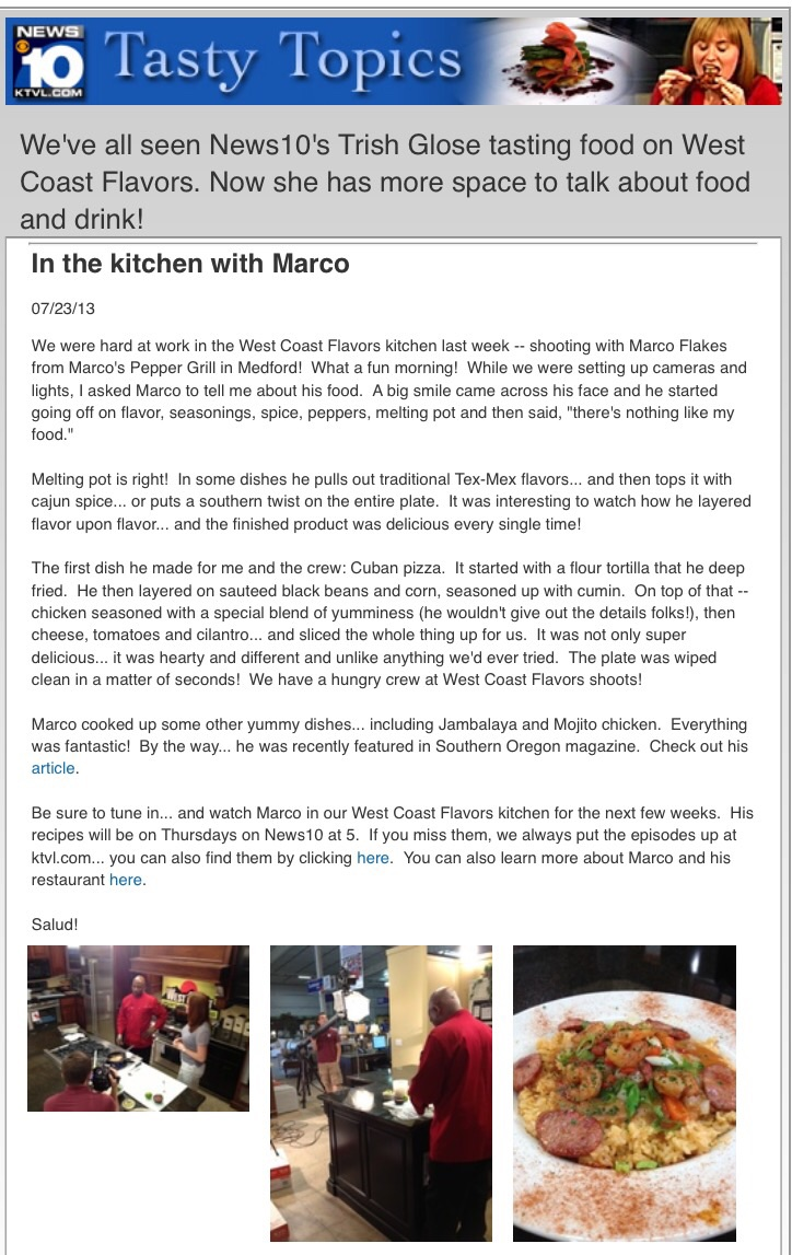 MARCO\'S PEPPER GRILL & CUISINE CATERING Careers, Funding, and ...