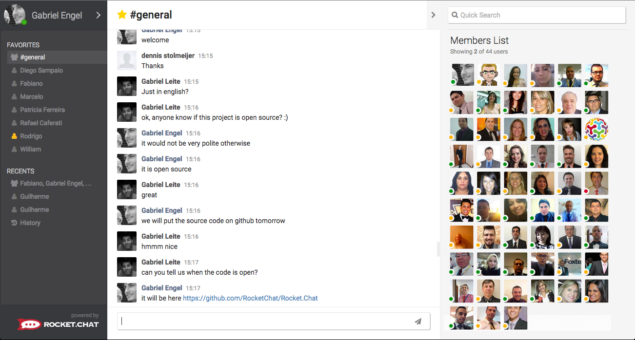 Rocket.Chat Careers, Funding, and Management Team   AngelList