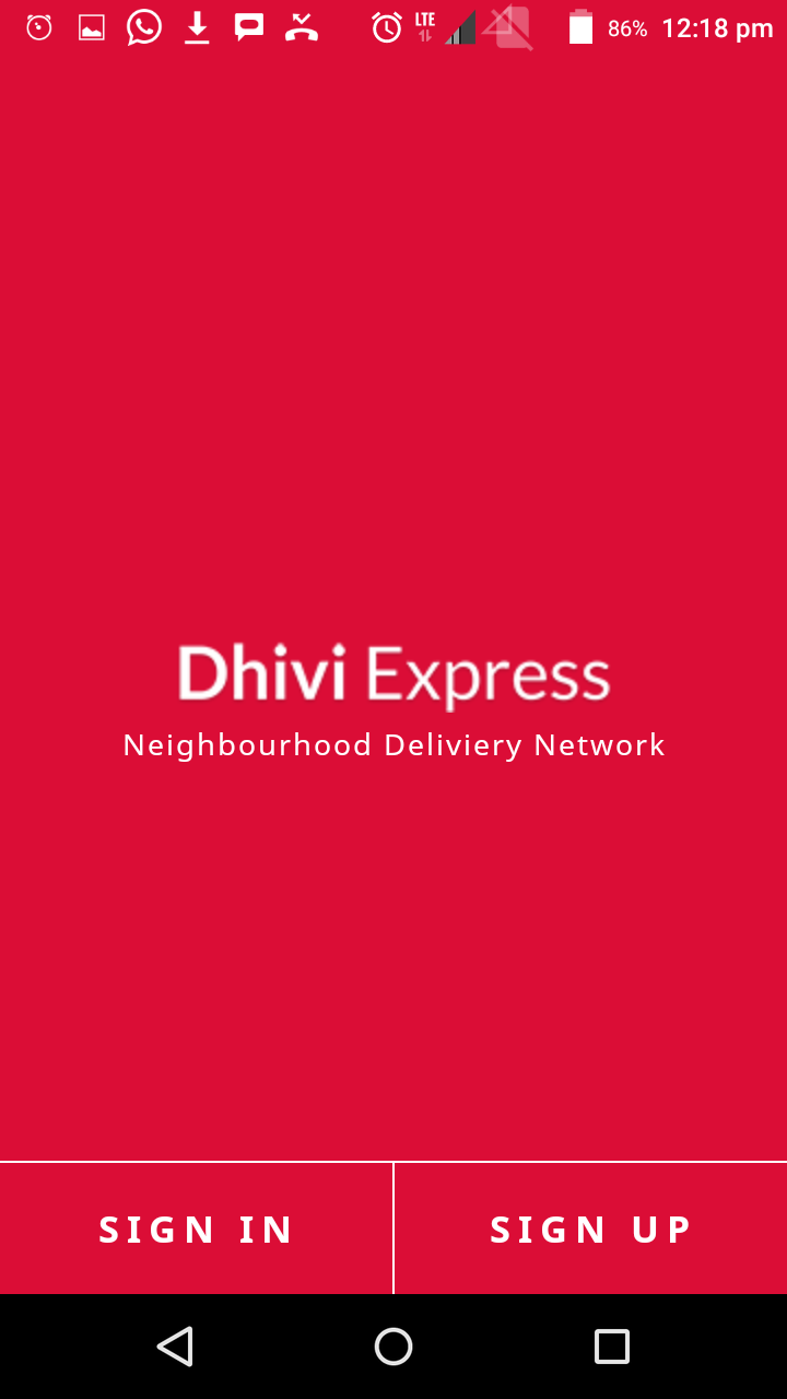 """DhiviExpress – The UBER for worldwide logistics Last Mile Delivery"""