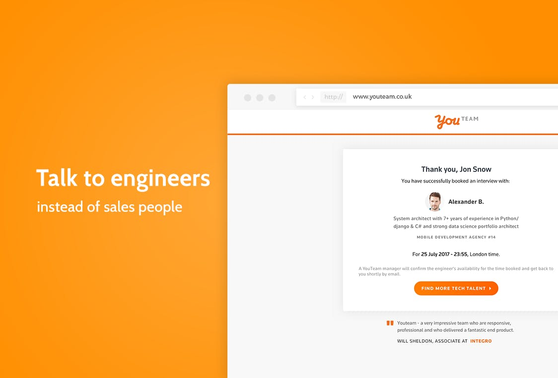 Outbound Sales Development Representative at YouTeam Job at YouTeam