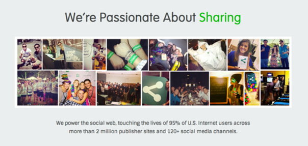 ShareThis Jobs: Screenshot