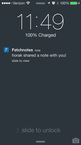 Fetchnotes Jobs: Screenshot