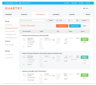 Quartzy Jobs: Screenshot