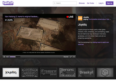 Twitch Jobs: Screenshot
