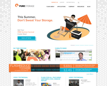 Pure Storage Jobs: Screenshot