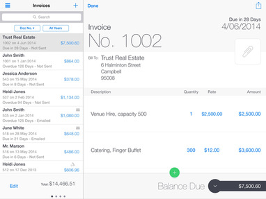 invoice2go is a mobile app that helps small businesses manage cash flow through easy to use invoicing expense tracking and simple reporting tools