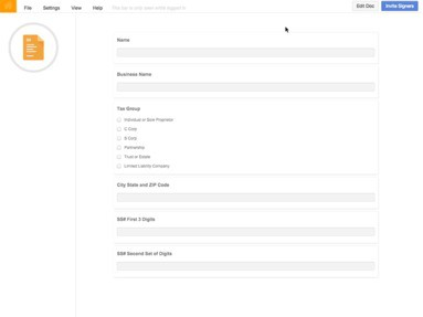 SeamlessDocs Jobs: Screenshot