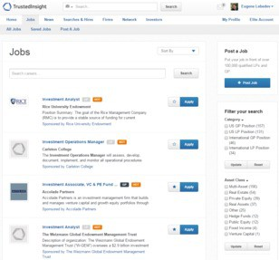 Trusted Insight Jobs: Screenshot