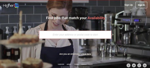 HigherMe Jobs: Screenshot