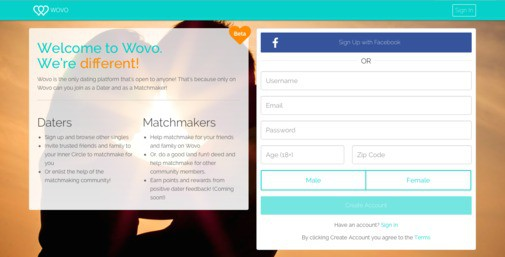 Wovo dating websites