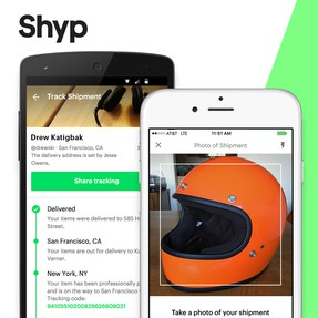 Shyp Jobs: Screenshot