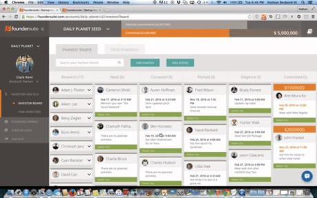 Foundersuite Jobs: Screenshot