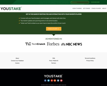 YouStake Jobs: Screenshot