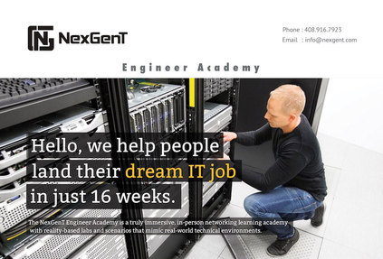 NexGenT Jobs: Screenshot