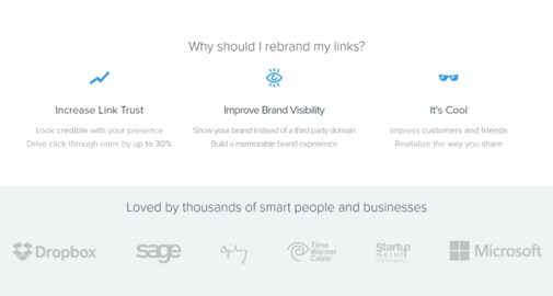 Rebrandly Jobs: Screenshot