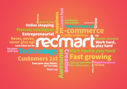 RedMart Jobs: Screenshot