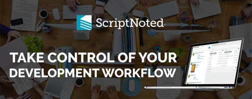 ScriptNoted Jobs: Screenshot