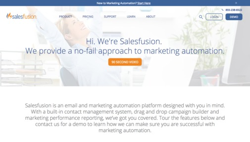 Salesfusion Jobs: Screenshot