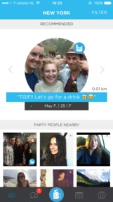 Party with a Local Jobs: Screenshot