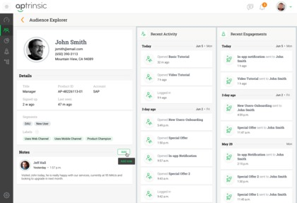 Aptrinsic Jobs: Screenshot