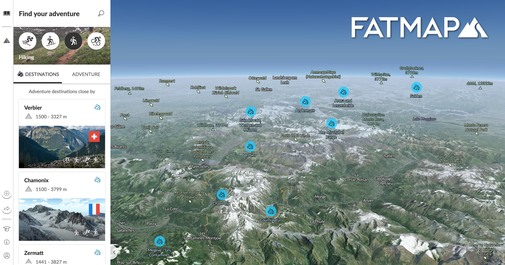FATMAP Jobs: Screenshot