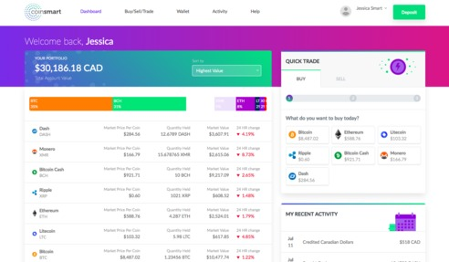 CoinSmart Jobs: Screenshot