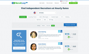 RecruitLoop Jobs : Screenshot