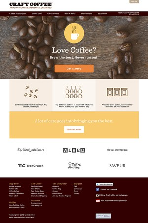 Craft Coffee Jobs : Screenshot